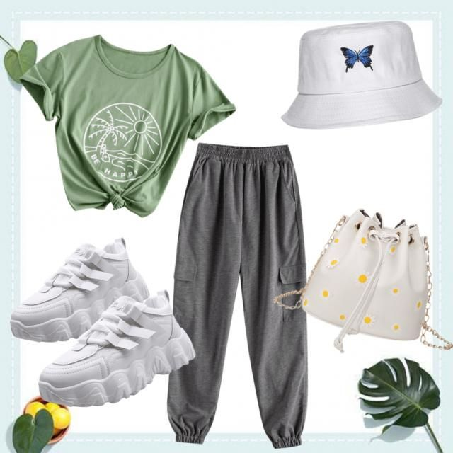 perfect outfits during school activities on summer!