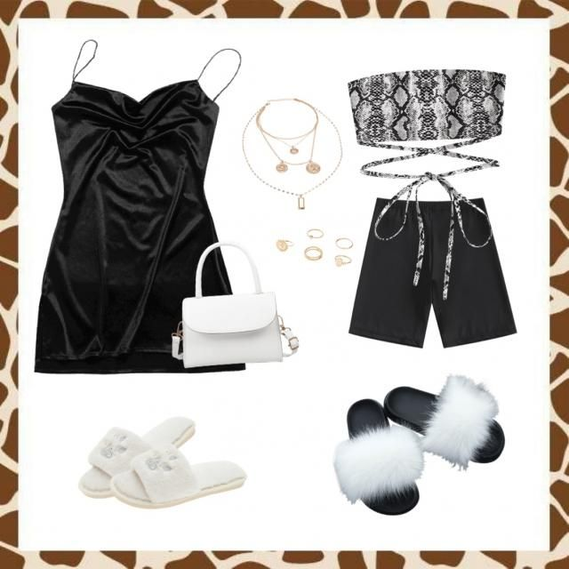 Black clothing with some touch of animal print, and finished the look with some gold jewelry. Perfect for the SCORPIO s…