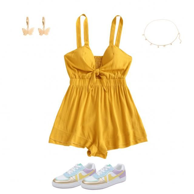 Summer sunny outfit