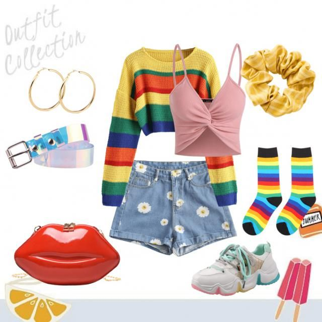 Great outfit for outdoor date; brunch or a picnic.