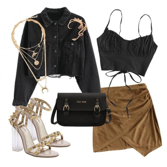 SAGITTARIUS ♐  Perfect date outfit; cute and simple with a touch of fiery and exciting accessorie details 🔥