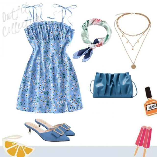 Pisces ♓️ is my favourite zodiac and it represents this cute blue outfit