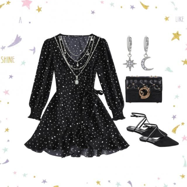 A witchy look for mischievous adventures 🌟💫🌠