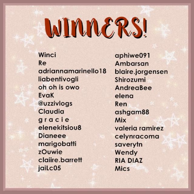 【 WIN Zodiac Outfit For FREE!】 Winners are here! Our staff will contact you guys via email soon to claim the prize. Sta…