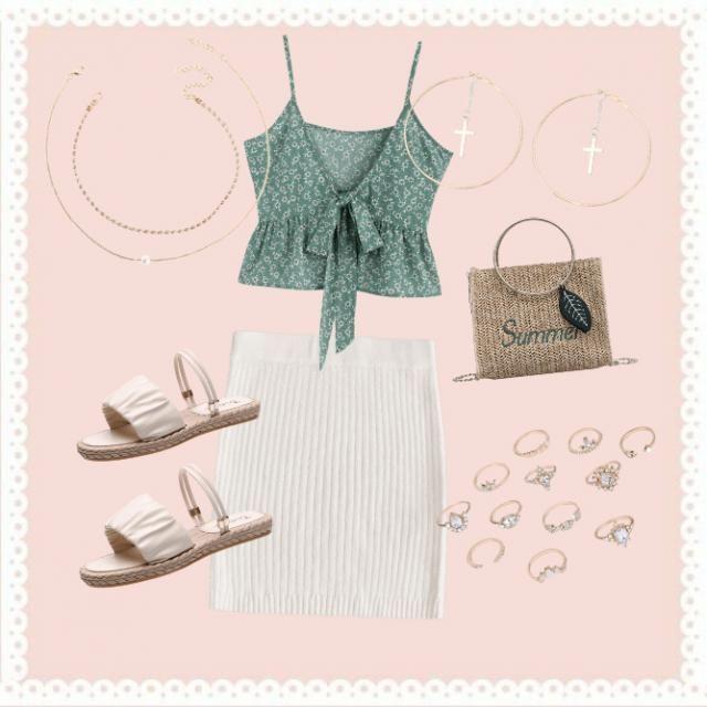 Simple cute summer ✌