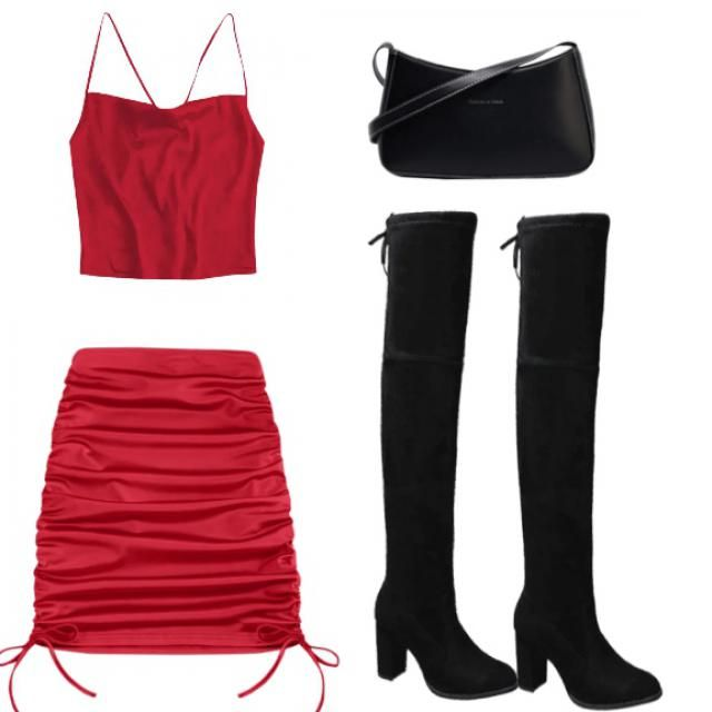 jus a cute date outfit. I could find the jacket I wanted so I left it jacketless, but i was thinking…