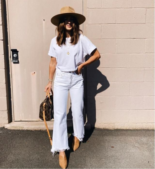 It's warm outside so let's prepare for autumn with this cute white outfits