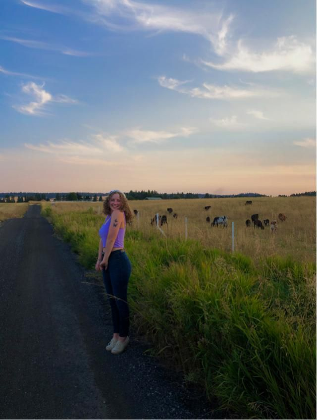 running around in the middle of nowhere