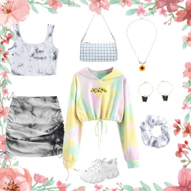 Tiedye outfit.👌SEND HEARTS IF YOU&;D WEAR THIS!❤️💯