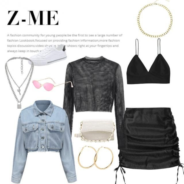 A baddie&;$ outfit.🥵 LIKE IF YOU&;D WEAR THIS OUTFIT TO A CLUB OR PARTY! ♣️