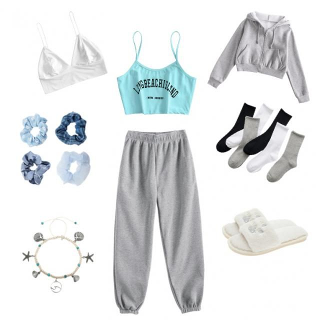 super cute lounge fit: this outfit is super cute and great for being comfy and jus lounging around.