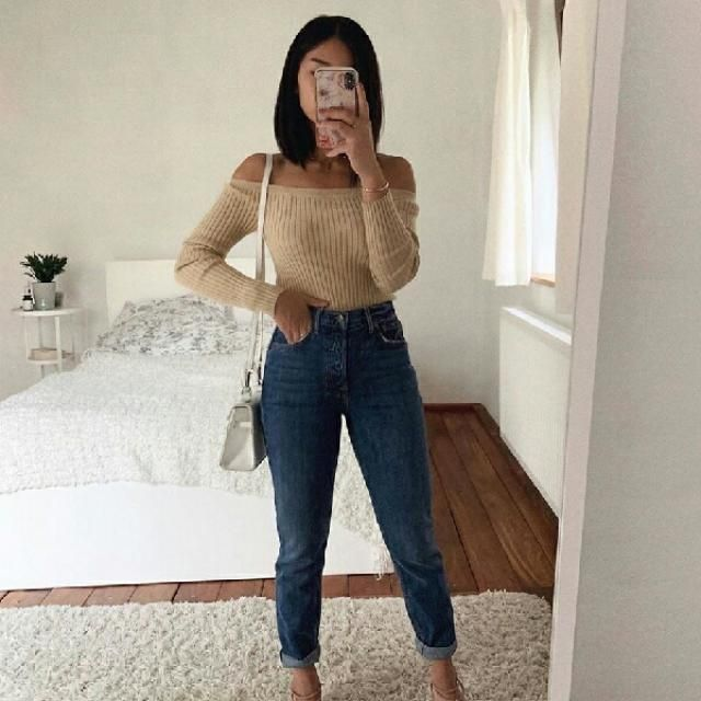 simple abd stylish outfit for fall