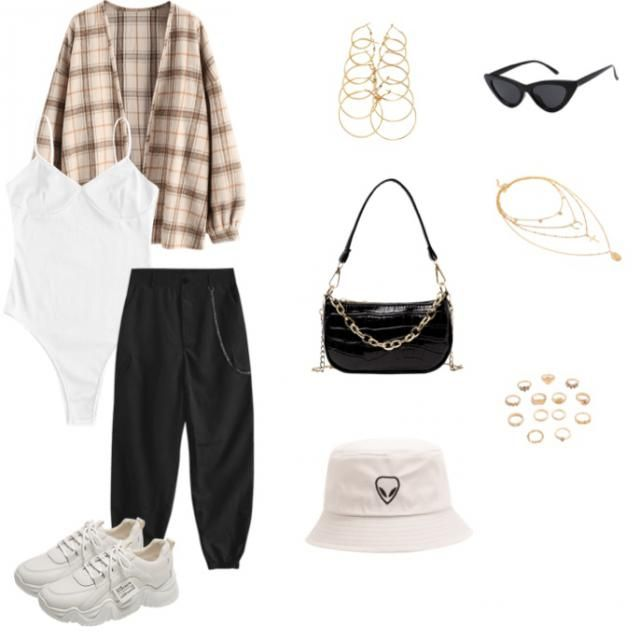 tan styled streetwear outfit 🤎