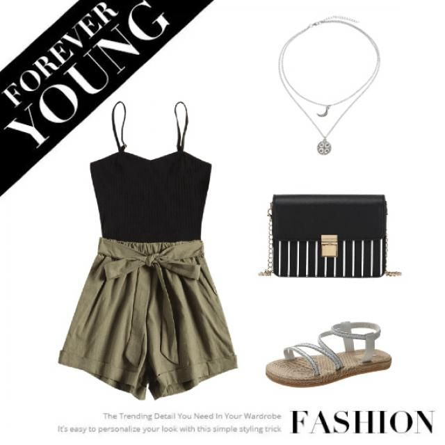 A simple summer look for any occasion