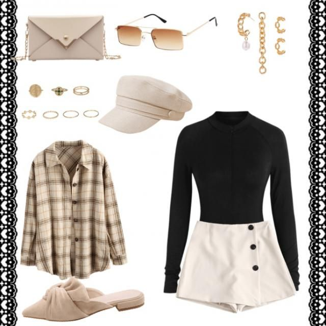 Perfect Fall Fashion with gold tones that compliment the season perfectly! Inspired by light earth tones for the Taurus…