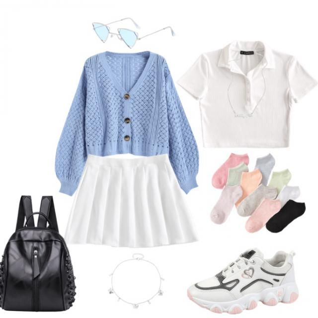 Cute look for  girls to go to a hang out or   :)   Let me know of you like it :)