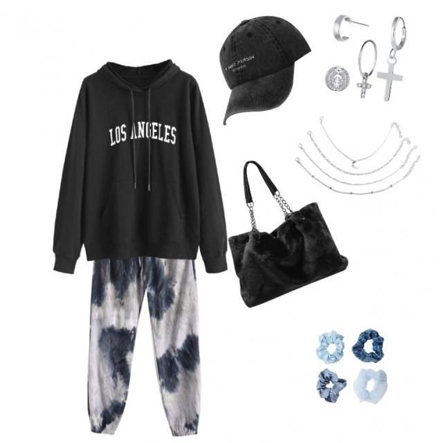 This is outfit for lazy day