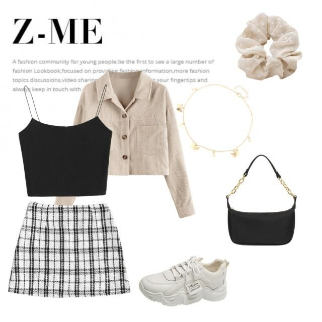 it&;s an outfit for a capricorn, i chose some beige colors and combined it with black. it&;s casual but also elegant in…