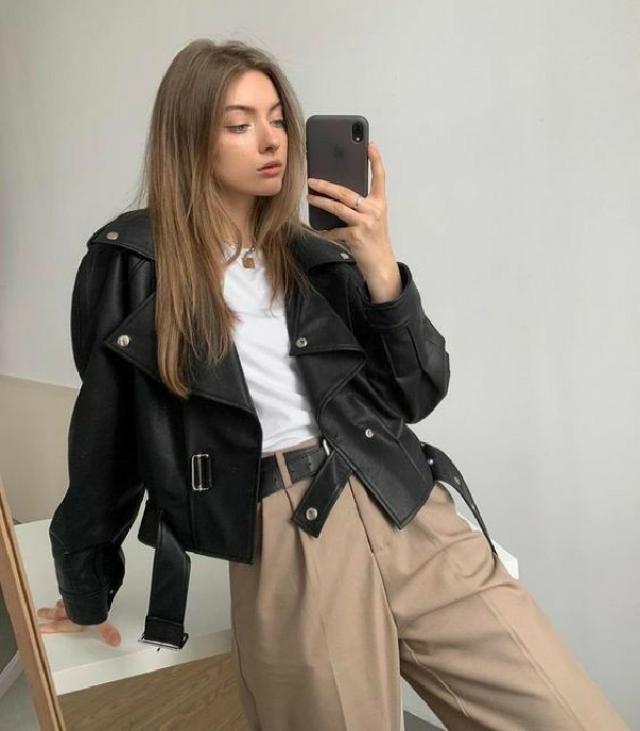 black jacket 🖤