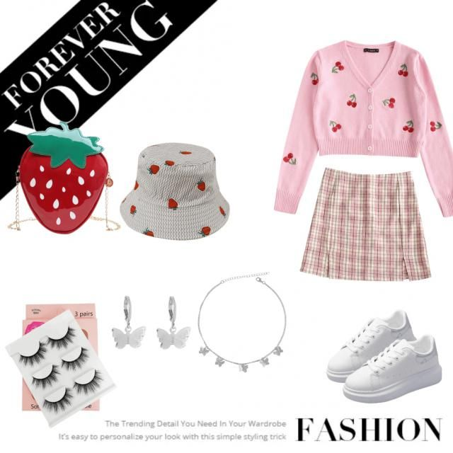 🍓🍒Soft girl outfit