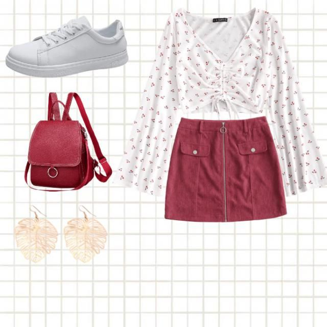 Cute red ideas for summer dates!
