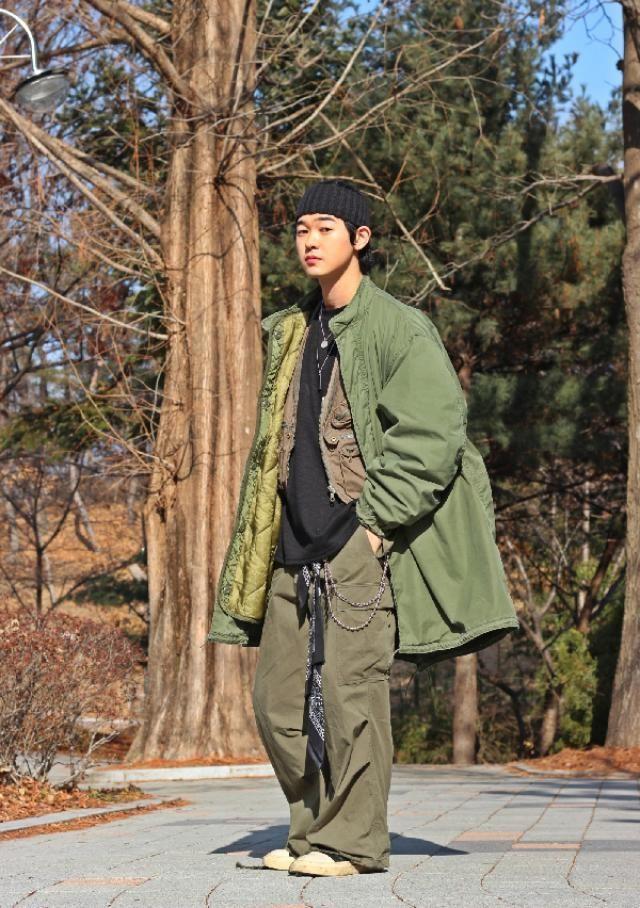 Military fashion    instagram: bb_stg  ☜ Korea model