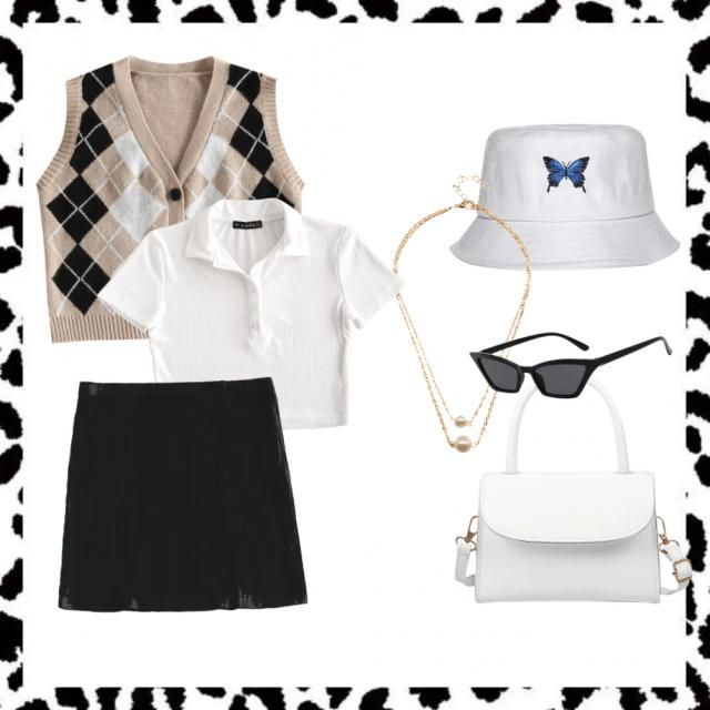 &White    Effortles but chic     &White
