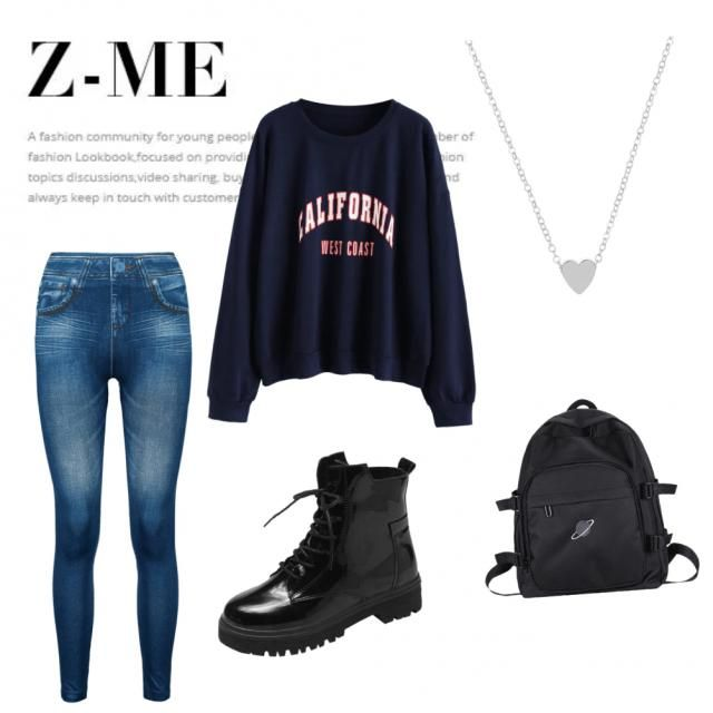 basic outfit for school, aries? ❤️