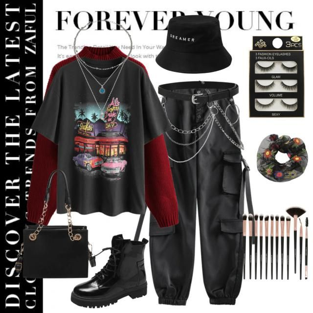 Here's an alt outfit thats perfect for fall