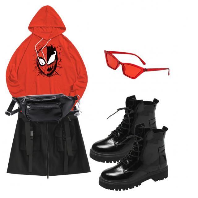 -Man Tomboy Spider-Man look😎 @mercy.cyprian