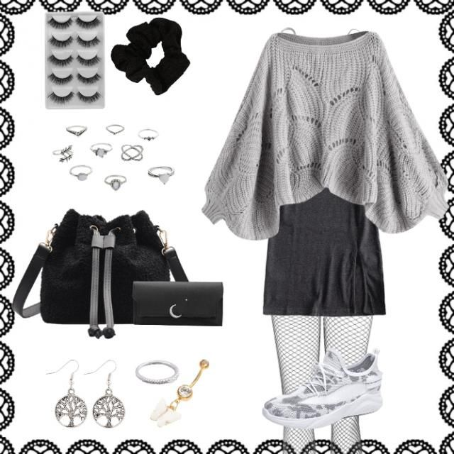 this is aquarius outfit. I'm actually a capricorn but I wanted to make outfits for my followers . I…
