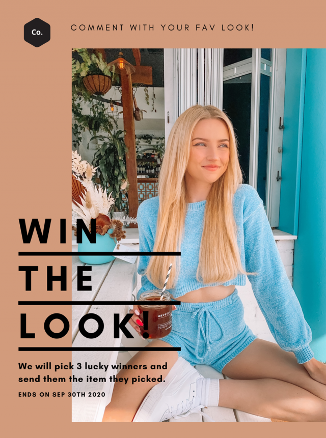 【WIN it FREE】 Check this lookbook, comment below your fave one and tell us why. We will pick 3 winners and send them th…