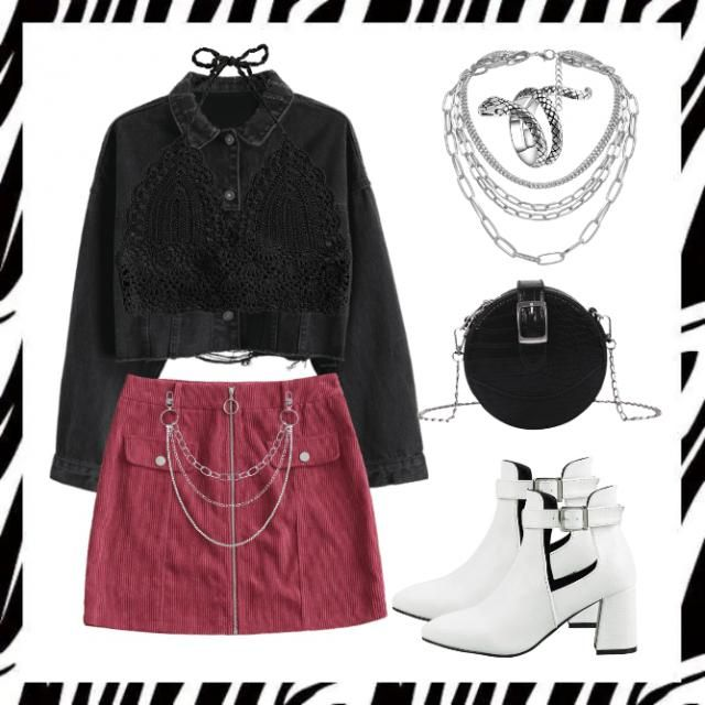 """Libra . Tip the scales in your favour with this outfit. Vibe check: """"don&;t mess with my girl power&…"""