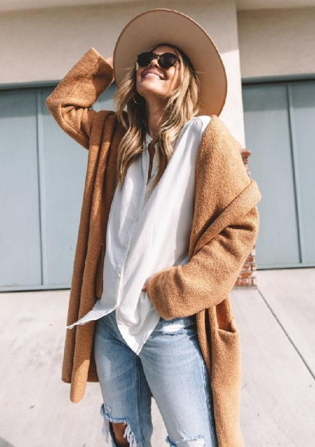 Everyone knows the main reason to love fall is all the sweaters, scarves, cardigans, boots, hats and warm jacke…