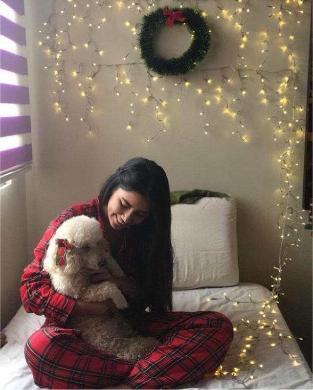 Christmas spirit with my babygirl ❤️