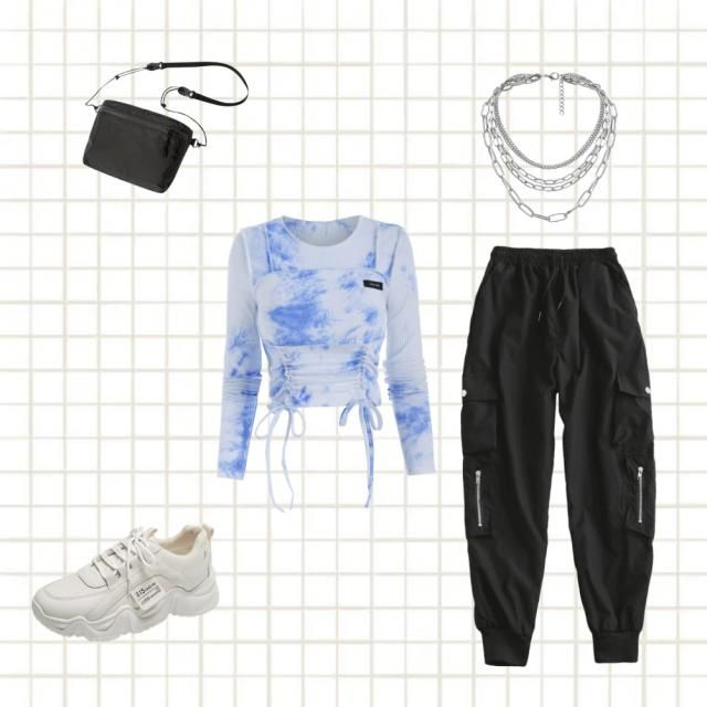 I went with the white and blue shirt for aquarius and I based the style off the white and blue shirt I believed the bla…