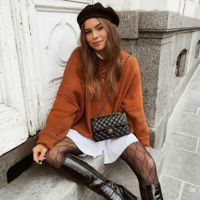 for a french girl look try this gorgeous outfit