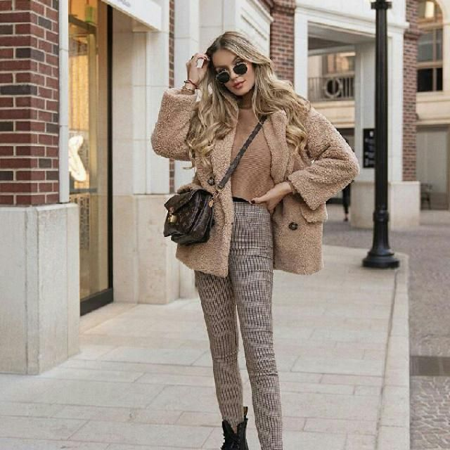 I love a neutral cozy look