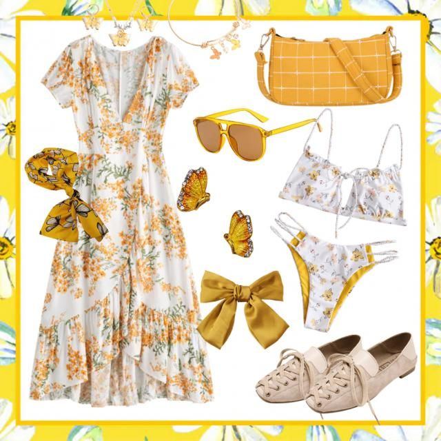 🌻tea party🌻 yellow!