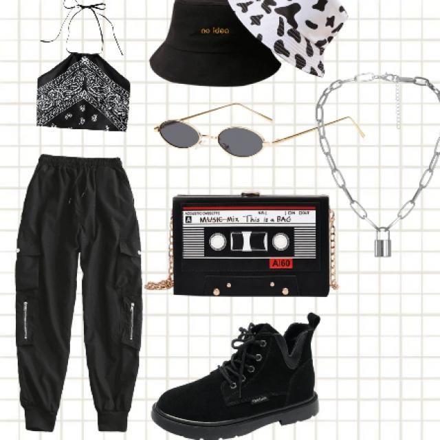 rock your black 🖤