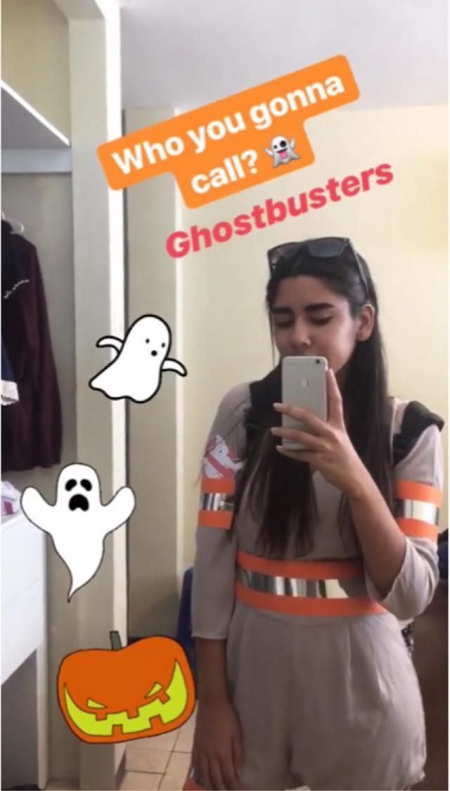 costume! Ghostbusters 👻