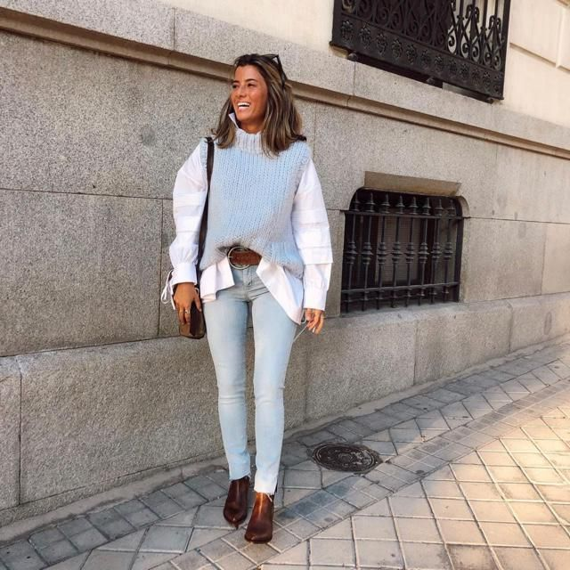 This vest totally look good with every jeans and top you have