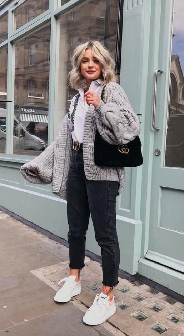 How do you style your cardigan outfit? | | |
