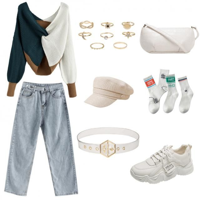 I really like this top and I'm the type of person that doesn't like to show a lot of skin, so this outfit would suit me…