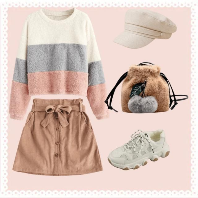 Here is some girly casual and comfy outfit for the sign Taurus. When I think of Taurus and Outfit I immediately think o…