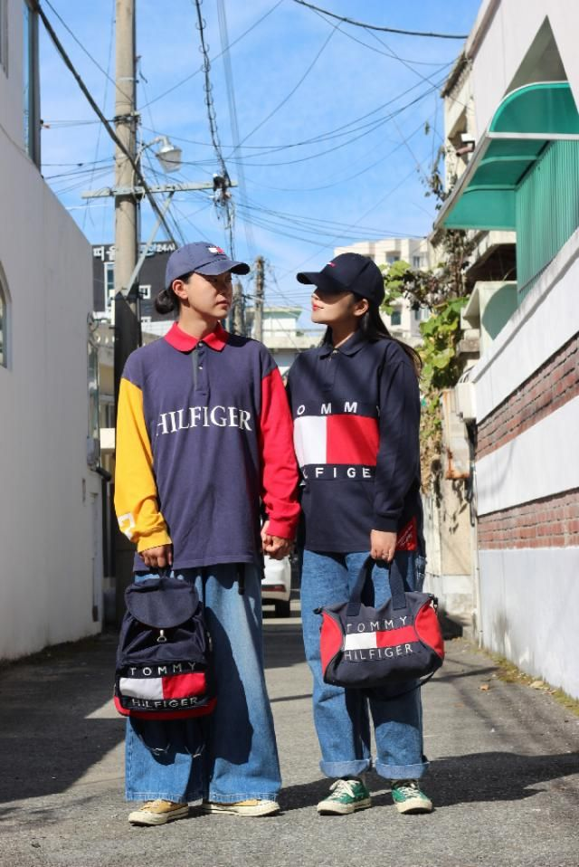 Tommy 90s oldschool couple style  instagram: bb_stg ☜ model