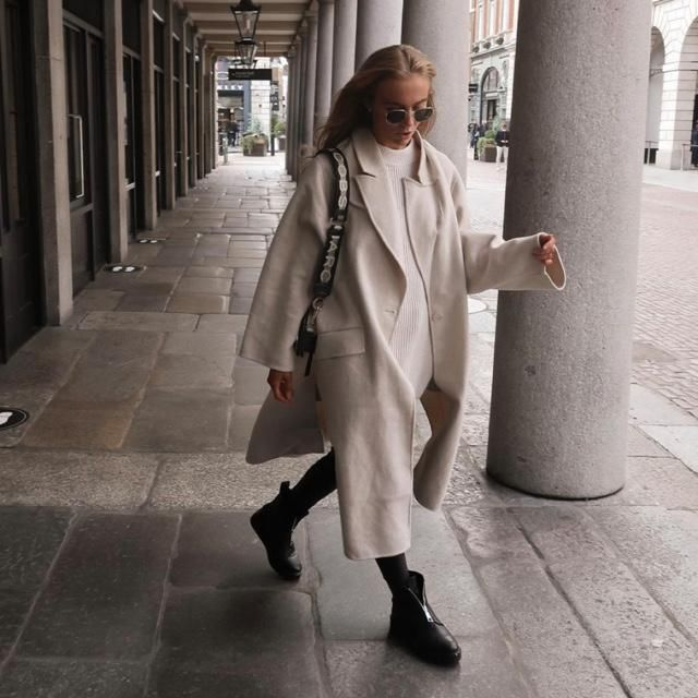 Do you agree if the maxi coat is stylish?