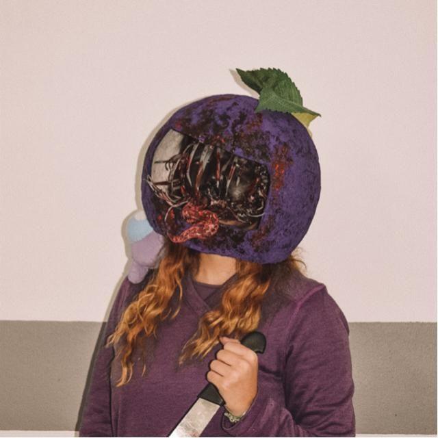 Among.Us cosplay hehe (purple looking kinda ✨sus✨)