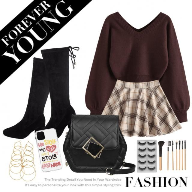 A chic school girl ❤️