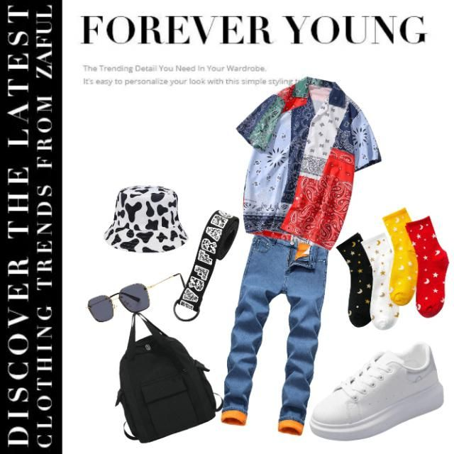 Your Forever your look gives you that Your look combined with Street wear Culture in This Summer